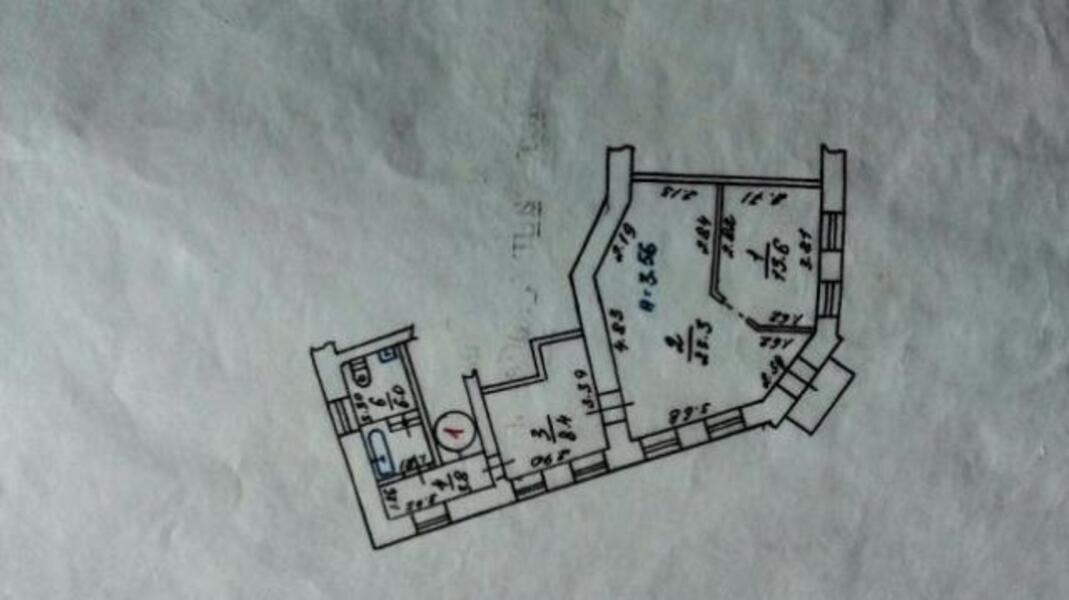 2 комнатная квартира, Харьков, Холодная Гора, Пермская (494428 1)