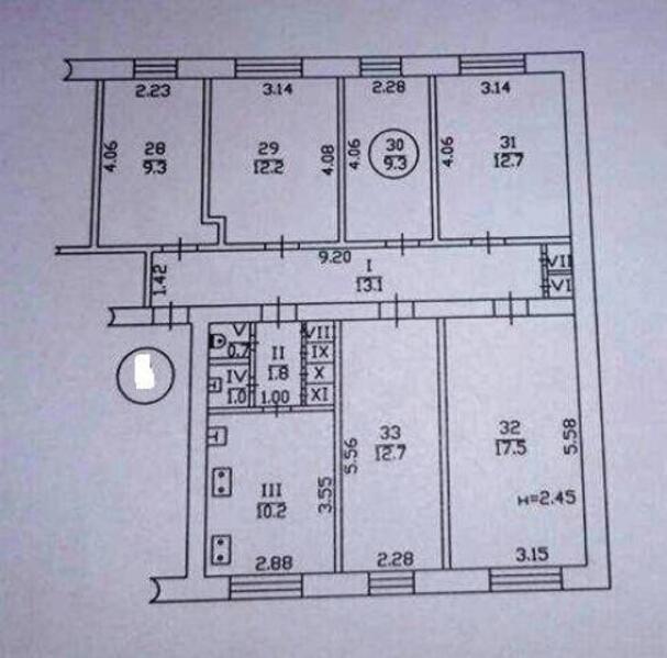 1 комнатная гостинка, Харьков, Алексеевка, Победы пр. (494778 1)