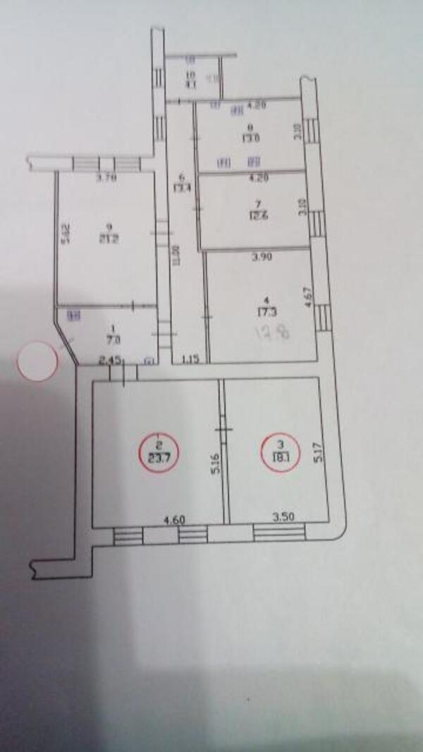 2 комнатная гостинка, Харьков, Бавария, Ново Баварский пр. (Ильича пр.) (495125 2)