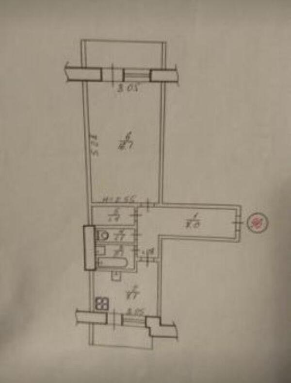 1 комнатная квартира, Харьков, Новые Дома, Героев Сталинграда пр. (495290 1)