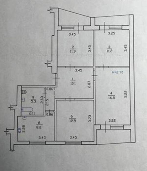 2 комнатная квартира, Харьков, Рогань жилмассив, Роганская (495753 1)