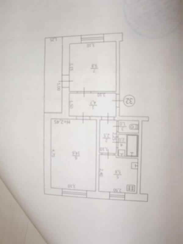 3 комнатная квартира, Ковшаровка, Харьковская область (497453 1)