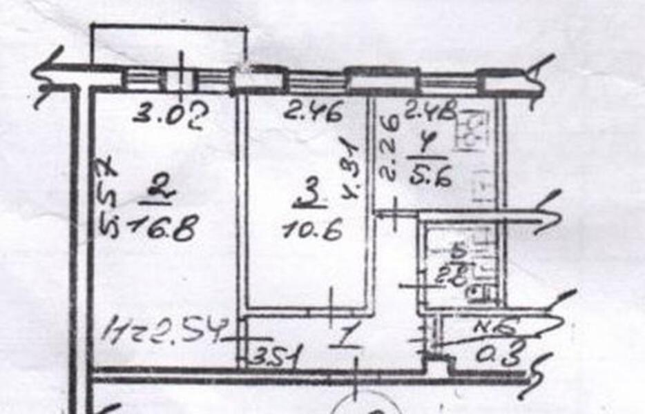 2 комнатная квартира, Харьков, Новые Дома, Ньютона (497568 1)