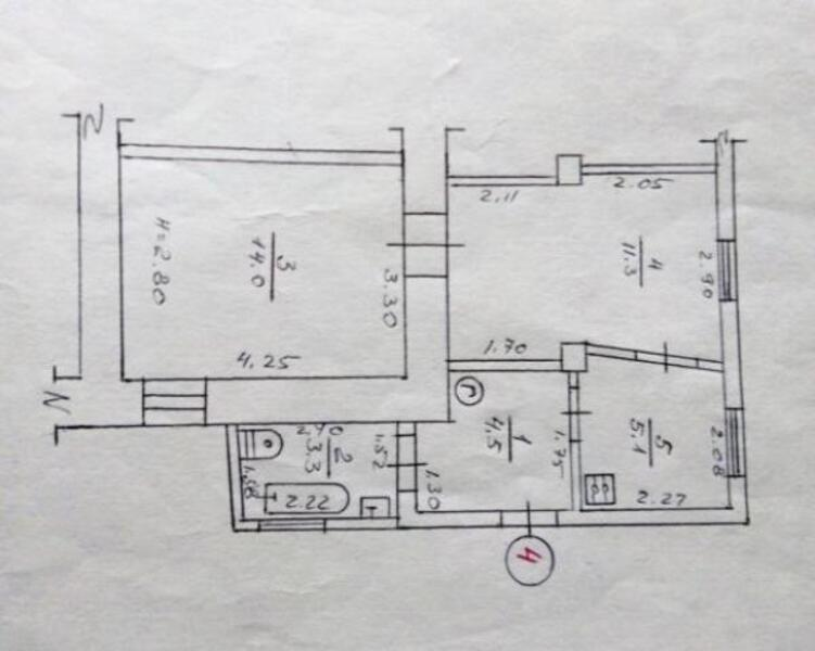 2 комнатная квартира, Харьков, Гагарина метро, Гольдберговская (1 й Конной Армии) (497676 1)