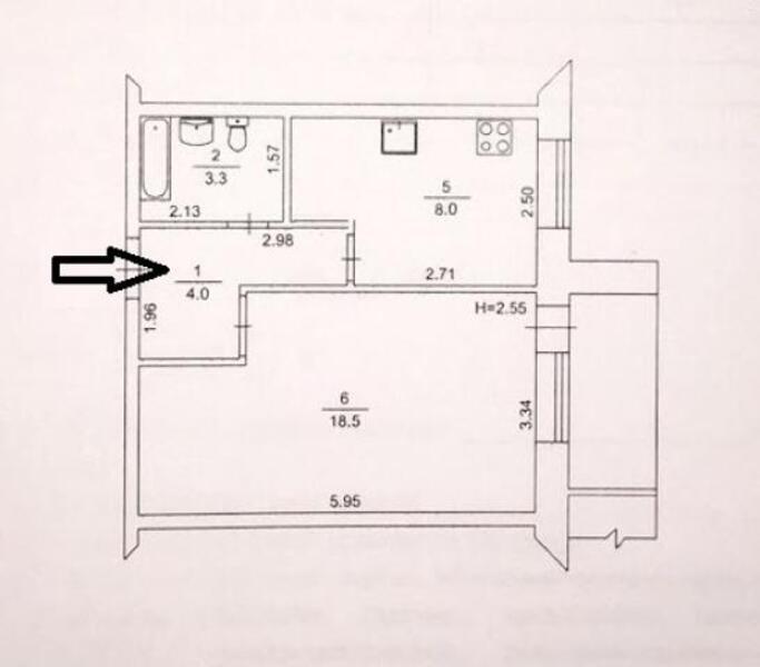 2 комнатная квартира, Харьков, Новые Дома, Ньютона (498154 1)