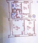 3 комнатная квартира, Харьков, ХТЗ, Мира (Ленина, Советская) (498383 2)