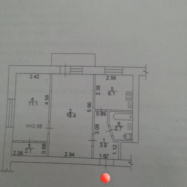2 комнатная квартира, Харьков, Холодная Гора, Грушевского (Цюрупы) (498578 1)