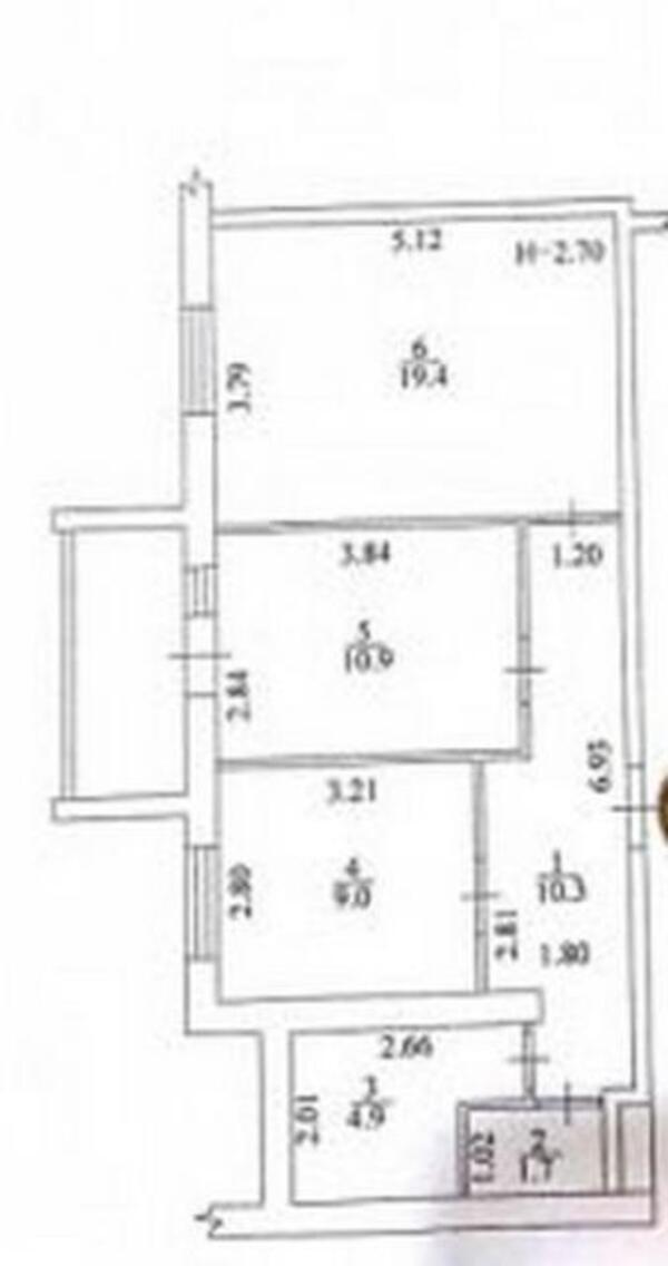 3 комнатная квартира, Харьков, НОВОЖАНОВО, Власенко (498761 1)