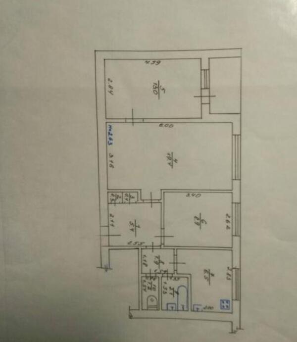 1 комнатная квартира, Харьков, Центральный рынок метро, Резниковский пер. (498910 1)