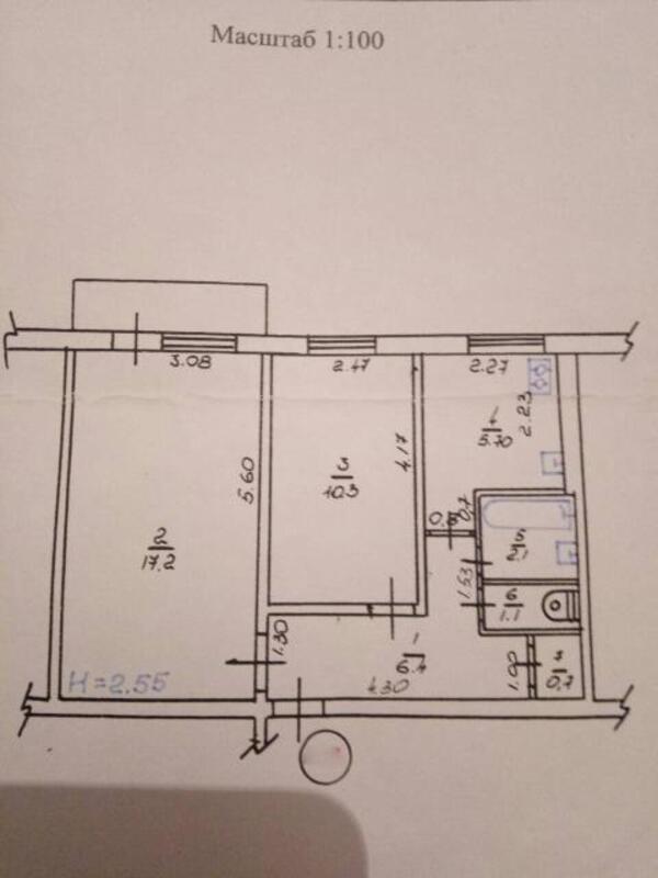 2 комнатная квартира, Харьков, Новые Дома, Садовый пр д (498975 1)