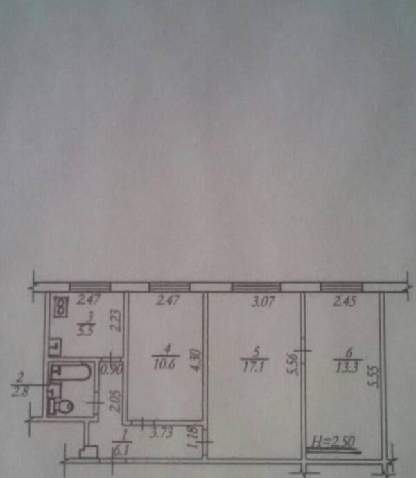 2 комнатная квартира, Харьков, Новые Дома, Садовый пр д (499072 1)
