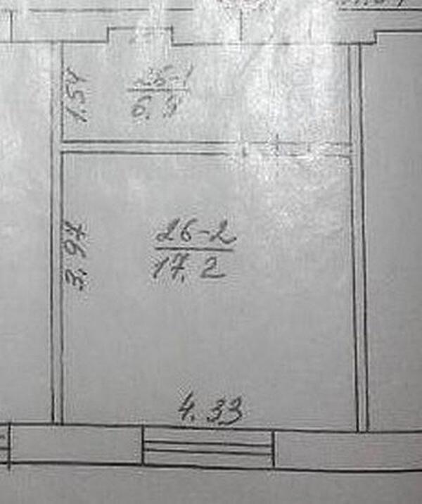 1 комнатная гостинка, Харьков, ХТЗ, Библыка (2 й Пятилетки) (499269 1)