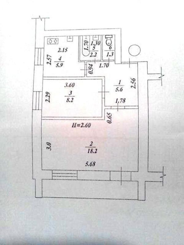 2 комнатная квартира, Харьков, Салтовка, Академика Павлова (499282 1)