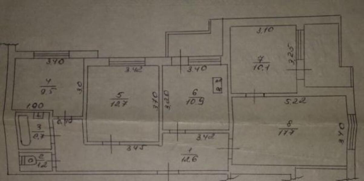 2 комнатная квартира, Харьков, НАГОРНЫЙ, Сумская (499448 1)