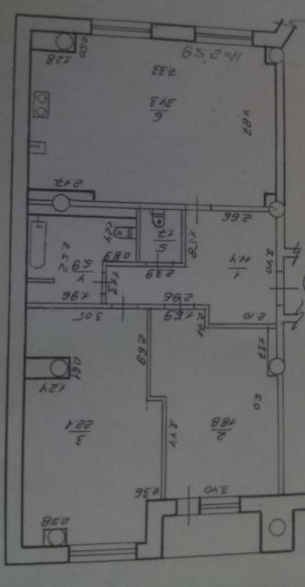 3 комнатная квартира, Харьков, Гагарина метро, Гагарина проспект (500006 1)