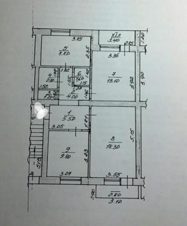 3 комнатная квартира, Песочин, Набережный взд, Харьковская область (501045 1)