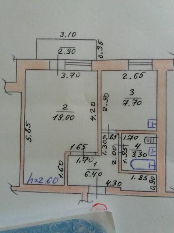 1 комнатная квартира, Солоницевка, Пушкина, Харьковская область (502787 1)