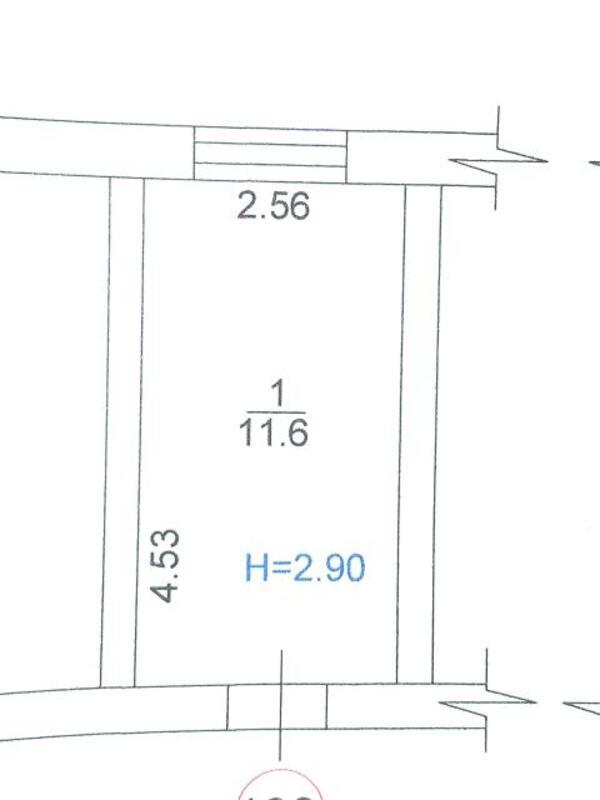 1 комнатная гостинка, Харьков, ХТЗ, Александровский пр. (Косиора пр.) (503738 1)