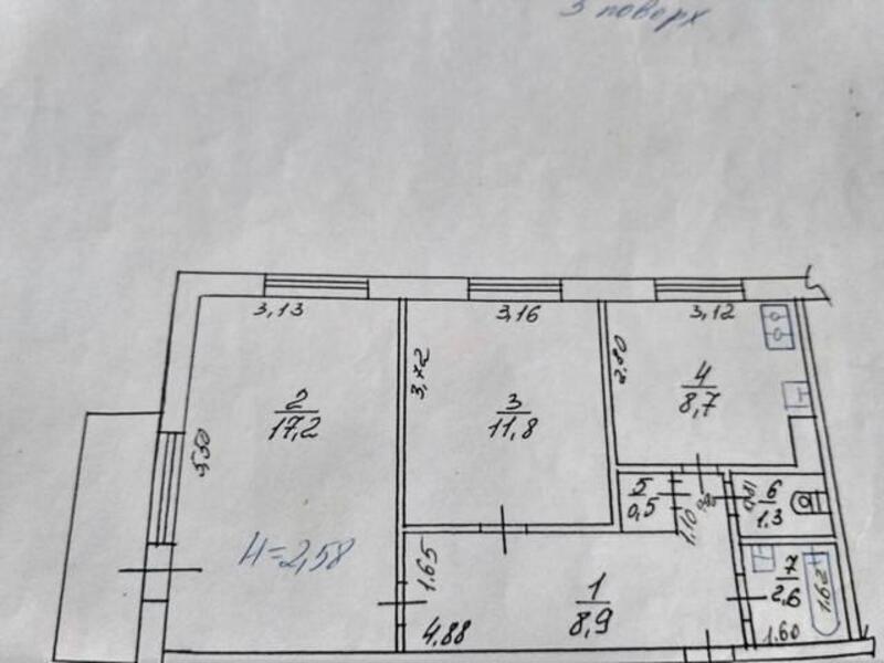 1 комнатная квартира, Харьков, Холодная Гора, Петра Болбочана (Клапцова) (503805 1)