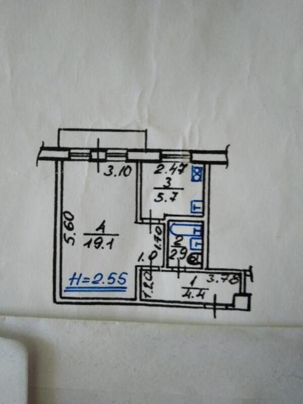 1 комнатная квартира, Харьков, Новые Дома, Жасминовый б р (Слинько Петра) (504012 1)