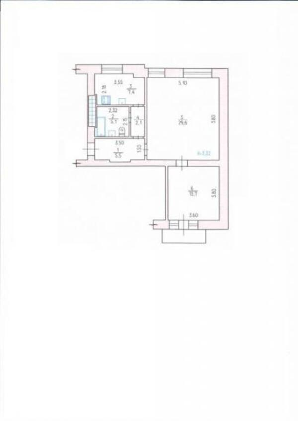 2 комнатная квартира, Харьков, ЦЕНТР, Московский пр т (504100 1)