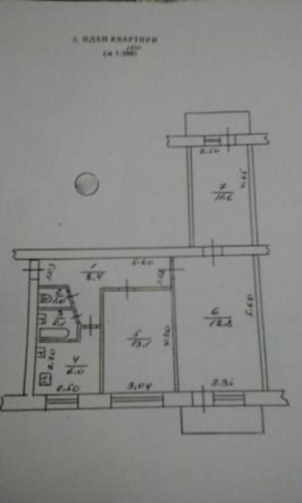 1 комнатная квартира, Харьков, ОДЕССКАЯ, Гагарина проспект (504306 1)
