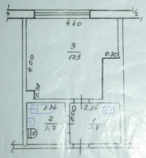 1 комнатная квартира, Харьков, Горизонт, Московский пр т (504362 1)