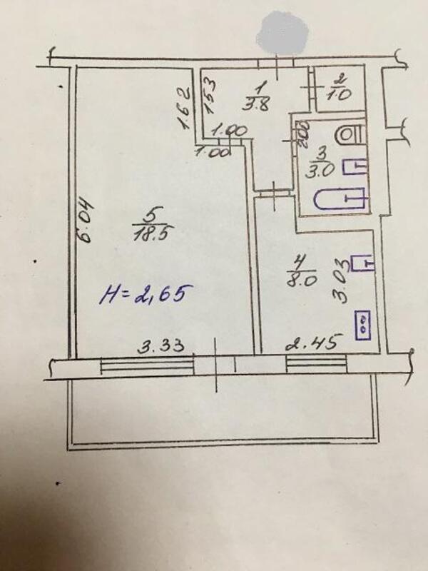 1 комнатная квартира, Харьков, Горизонт, Московский пр т (504582 1)