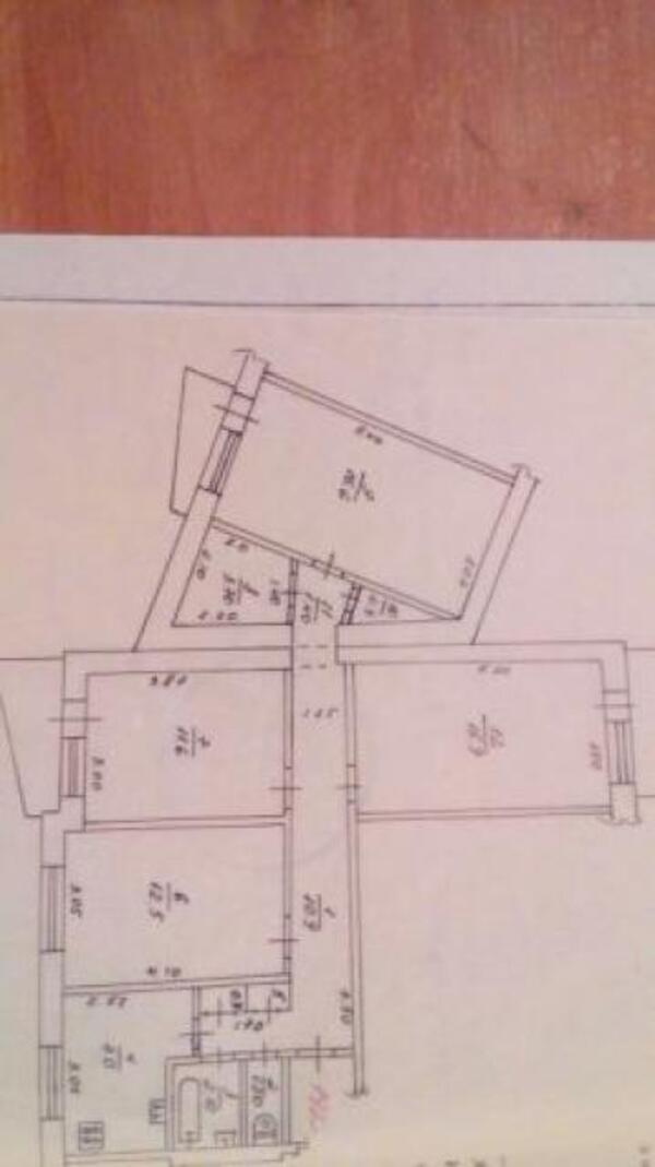 3 комнатная квартира, Харьков, Салтовка, Академика Павлова (505232 1)