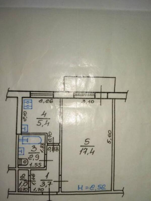 1 комнатная квартира, Харьков, Новые Дома, Танкопия (505576 1)