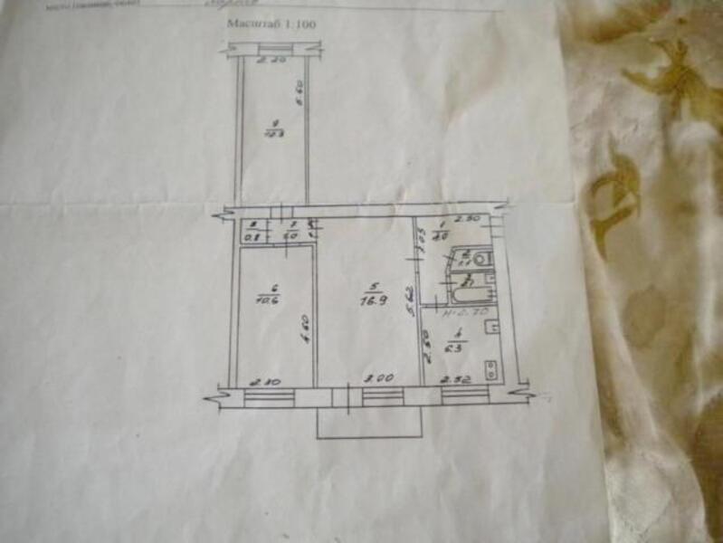 1 комнатная квартира, Харьков, ОДЕССКАЯ, Зерновая (Совхозная 1 19) (506105 2)