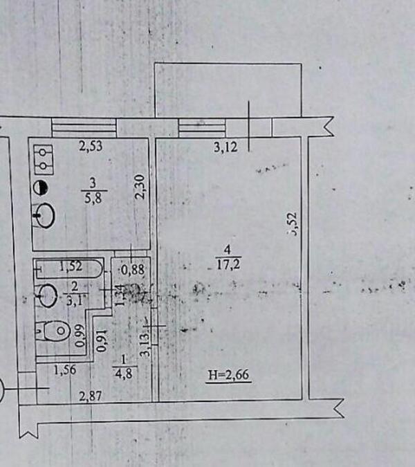 1 комнатная квартира, Харьков, Аэропорт, Западная (506474 1)