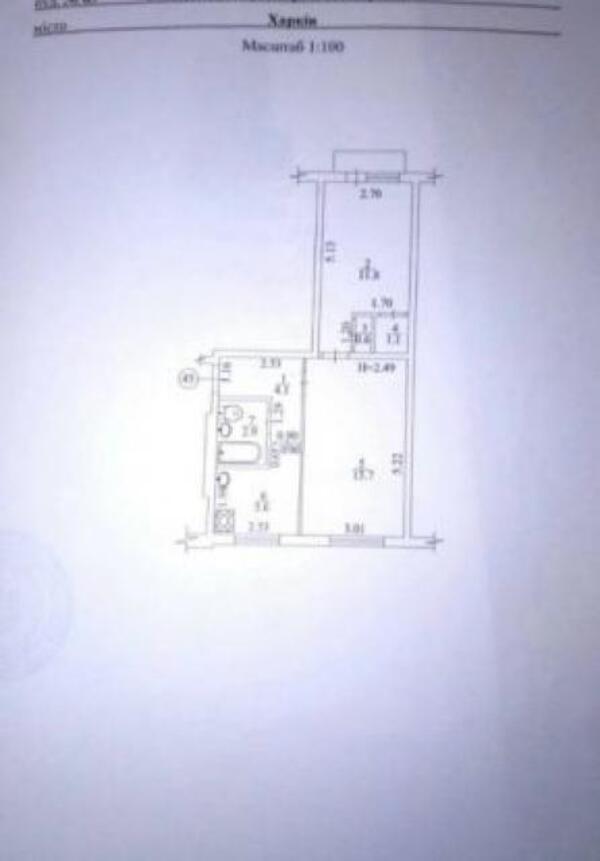 1 комнатная квартира, Харьков, Алексеевка, Людвига Свободы пр. (507403 1)