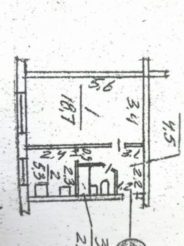 1 комнатная квартира, Харьков, ПАВЛОВКА, Семена Кузнеца (Ревкомовская) (507692 1)