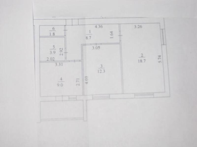 2 комнатная квартира, Харьков, ХТЗ, Мира (Ленина, Советская) (507793 3)