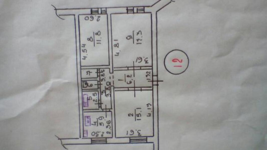 4 комнатная квартира, Харьков, Южный Вокзал, Конторская (Краснооктябрьская) (507893 1)