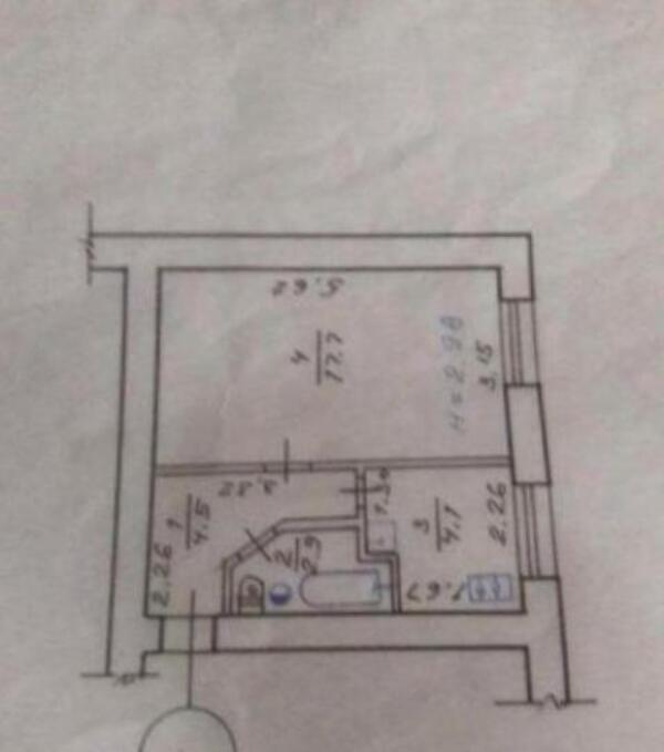 1 комнатная квартира, Харьков, Алексеевка, Людвига Свободы пр. (508358 2)