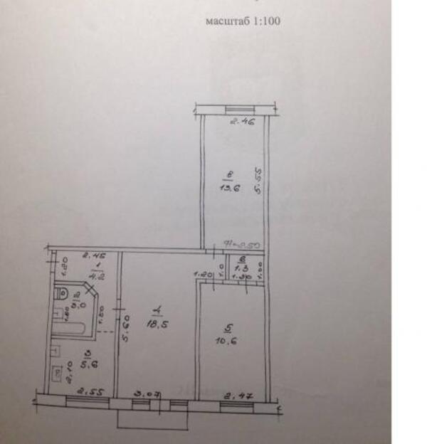 1 комнатная квартира, Харьков, Артема поселок, Дизельная (508506 1)