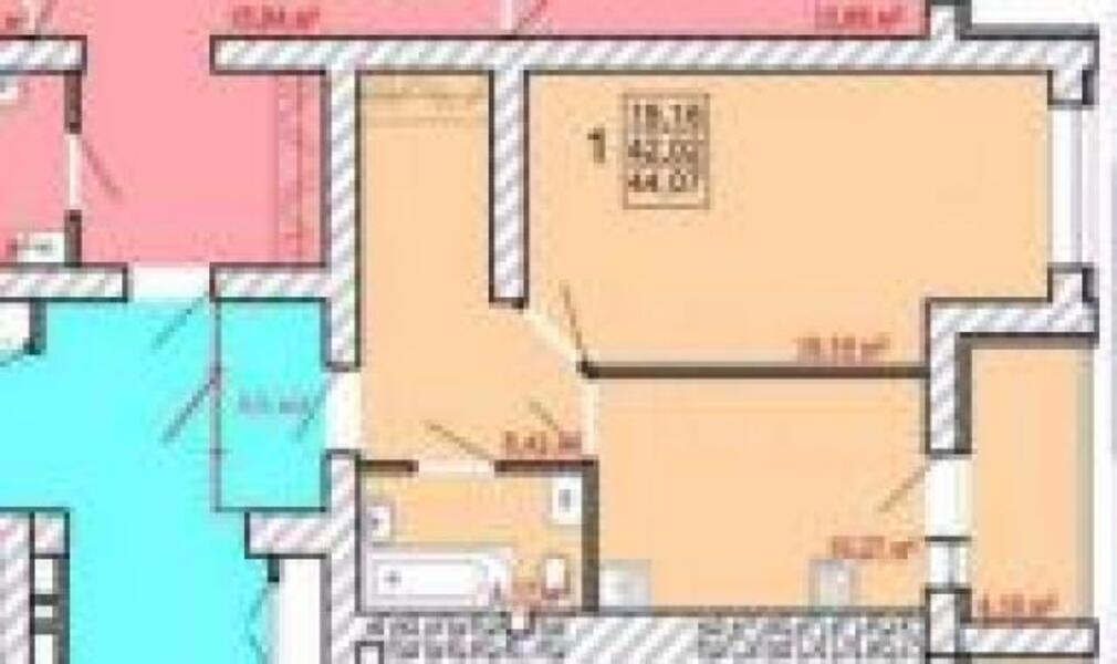 2 комнатная квартира, Харьков, Новые Дома, Ньютона (508540 1)