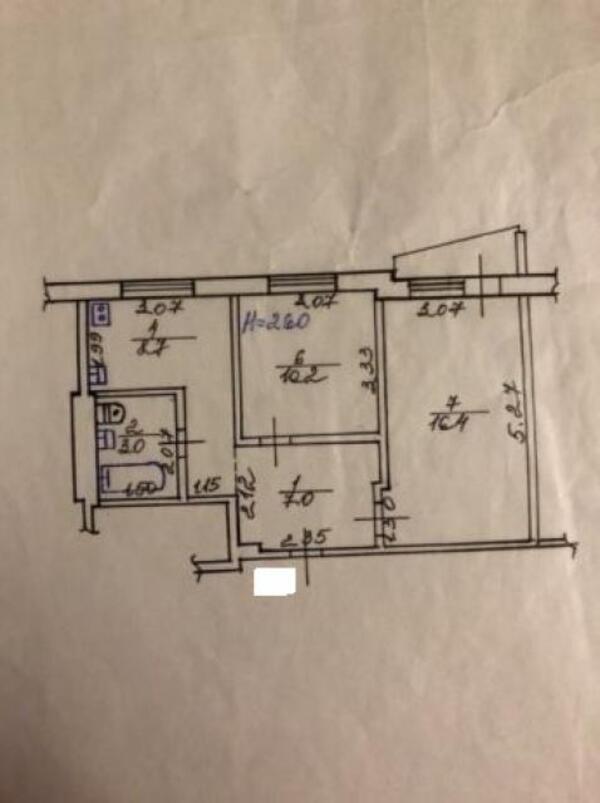2 комнатная квартира, Харьков, Защитников Украины метро, Фесенковский в зд (509194 1)