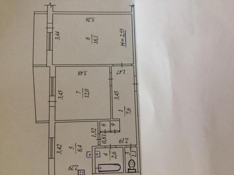 2 комнатная квартира, Харьков, Кулиничи, Грищенко (511288 1)