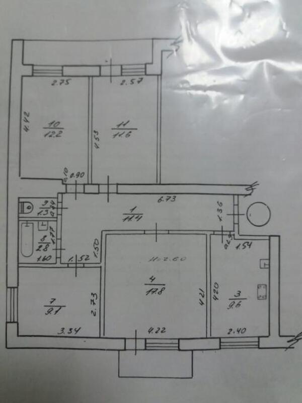 4 комнатная квартира, Харьков, ШИШКОВКА, Шишковская (524364 1)