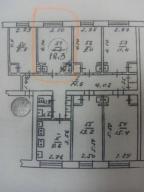 1-комнатная гостинка, Харьков, Павлово Поле, 23 Августа (Папанина)
