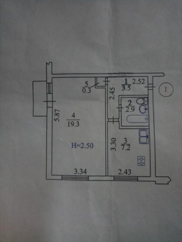 2 комнатная квартира, Харьков, Старая салтовка, Маршала Батицкого (526525 1)