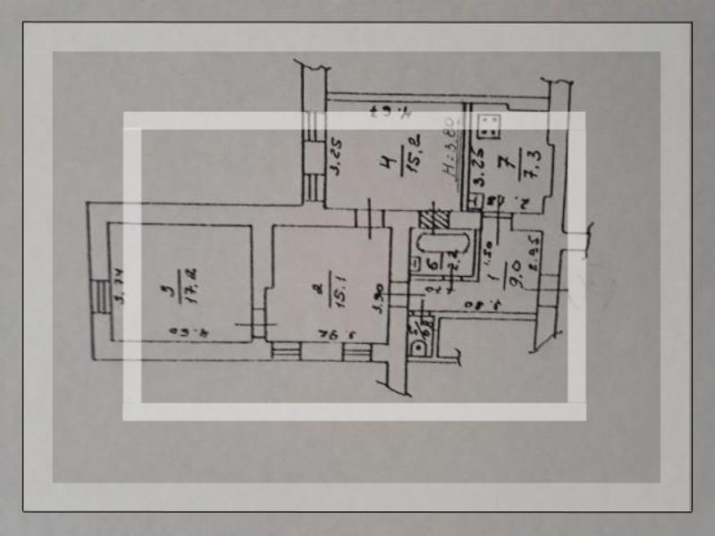 3 комнатная квартира, Харьков, НАГОРНЫЙ, Куликовский спуск (Революции ул.) (545607 1)
