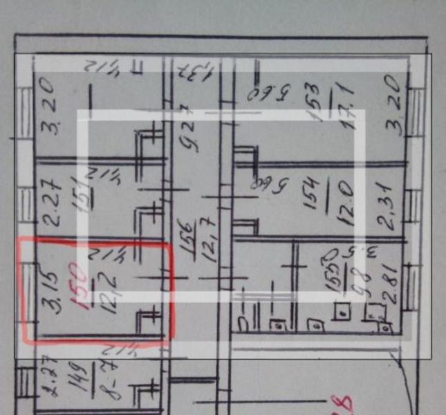 1 комнатная гостинка, Харьков, ХТЗ, Мира (Ленина, Советская) (551889 2)