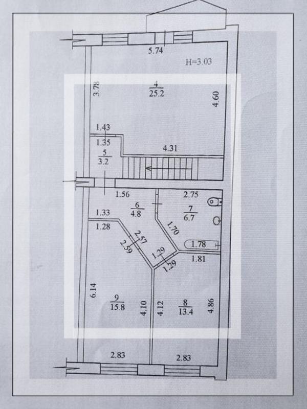 Купить 5-комнатная квартира, Харьков, ОДЕССКАЯ, Ньютона
