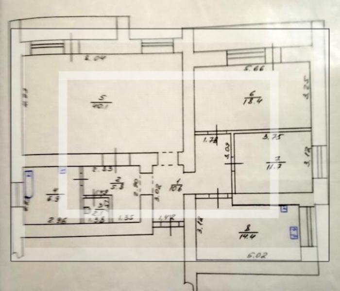 Квартира, 3-комн., Харьков, 608м/р, Академика Павлова
