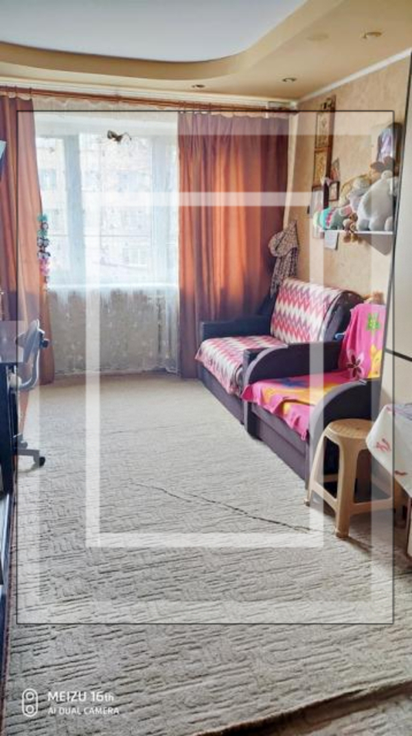 1 комнатная гостинка, Харьков, ХТЗ, Индустриальный просп. (Фрунзе проспект) (590819 1)