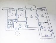 4-комнатная квартира, Харьков, Шатиловка, Науки пр.